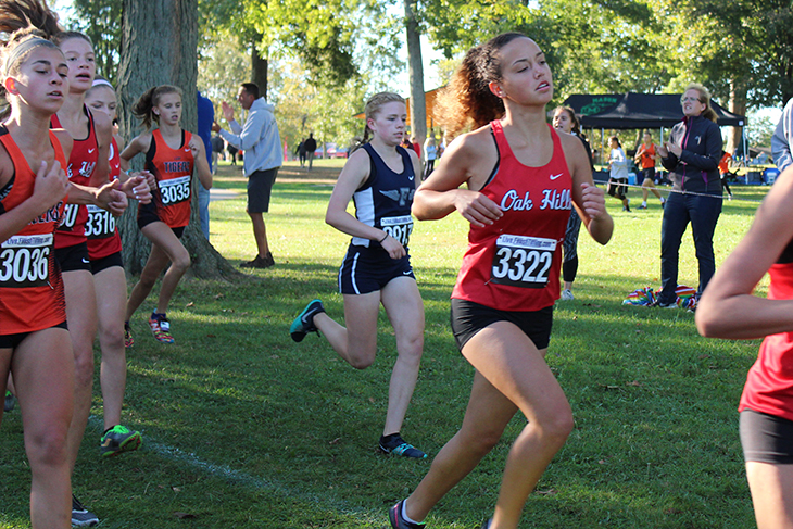 Sophomore, Jenna Eggleston, looks to surpass large group of competitors.