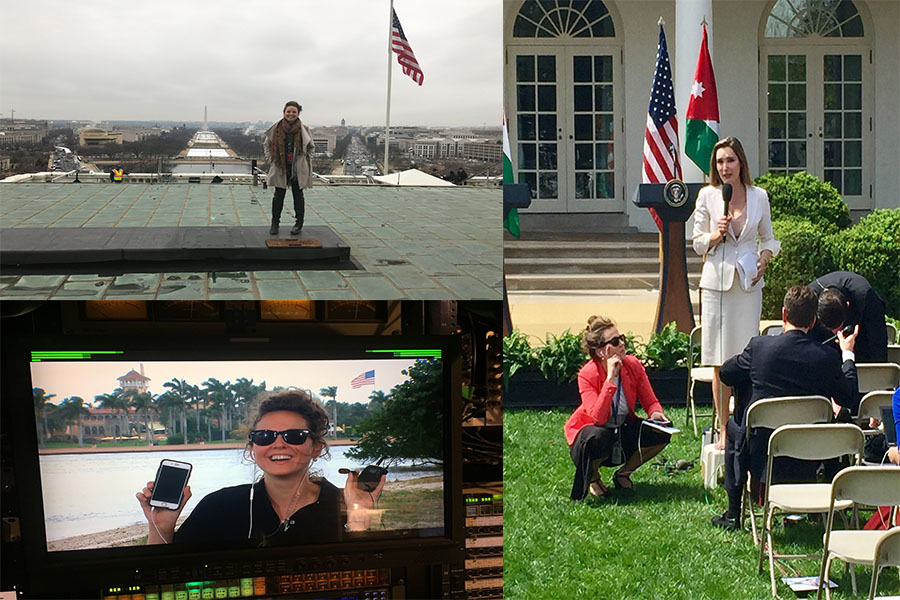 Fairmont graduate Alicia Amling works side by side with President Donald Trump on a daily basis. As a White House Special Events Producer, Amling is always in the know.