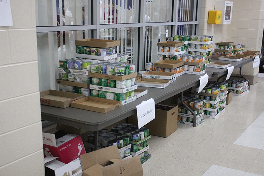Day four food drive
