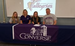 Senior, Hailey Spitler committed to play softball at Converse College.