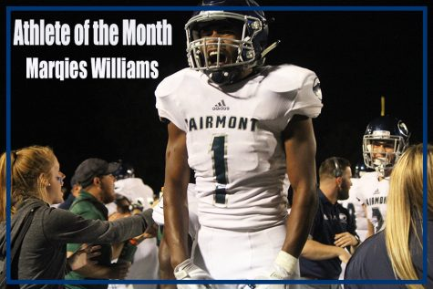 Athlete of the month: Marqies Williams