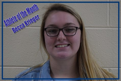 Athlete of the month: Becca Krieger