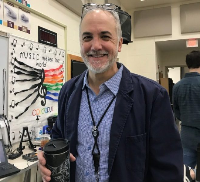 Richard Wright is a well-known figure within Kettering City Schools. When he is not in the classroom, he can be found supporting students at all types of events and games.